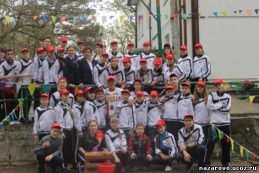 Участие в VIII Всероссийском слете лидеров дружин юных пожарных