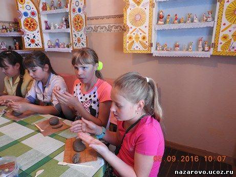 Уроки творчества в Музее сибирской игрушки