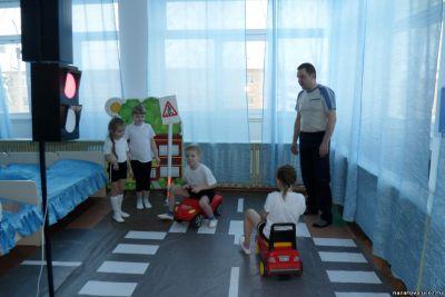В Преображенском детском саду папы выступили в роли педагогов