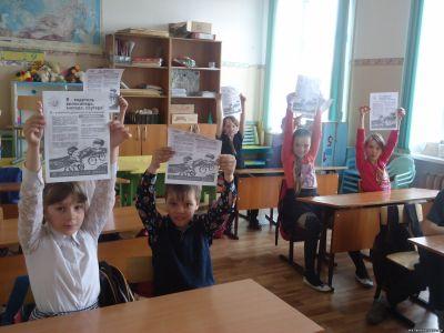 Антроповские школьники поддержали кампанию «Нет водительского – Нет мопеда!»