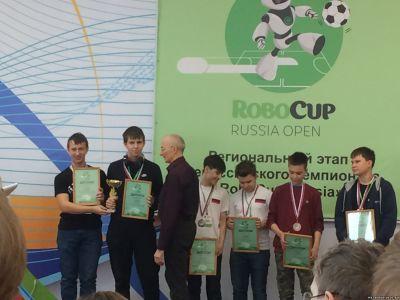 Итоги регионального этапа Всероссийского чемпионата «RoboCup Russia»