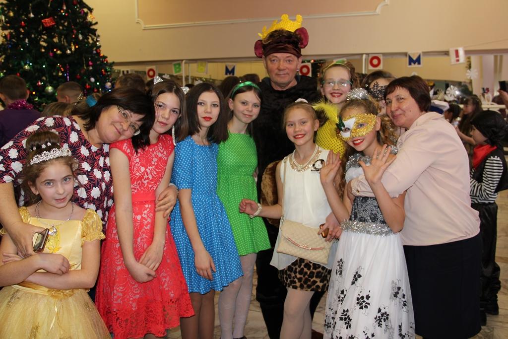 Новогодняя ёлка главы Назаровского района